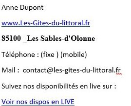 REPONSE MAIL 2
