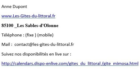 reponse mail 1